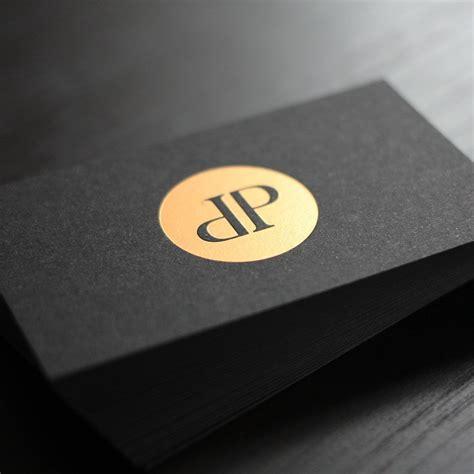 Visitenkarten Schwarz by Schwarze Visitenkarten Mit Hei 223 Folienpr 228 Gung Die