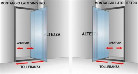 anta doccia nicchia porta doccia nicchia con anta battente quot cristal 1