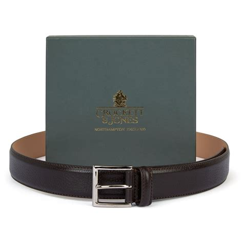 dark brown belt light brown shoes crockett and jones coniston pediwear footwear