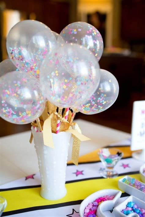 25 best ideas about balloon centerpieces on pinterest