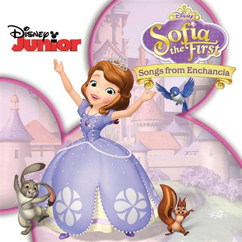 sofa the first new disney jr cd sofia the first songs from enchancia