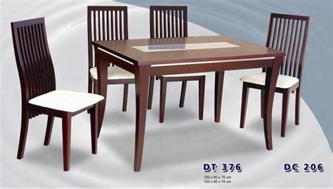 Meja Makan Siantano siantano meja 6 kursi makan type dt 376 dc 206 jok