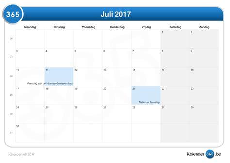 Juli Kalender 2017 Kalender Juli 2017