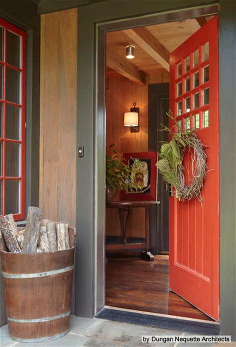 Burnt Orange Door For The Home Pinterest Orange Front Door