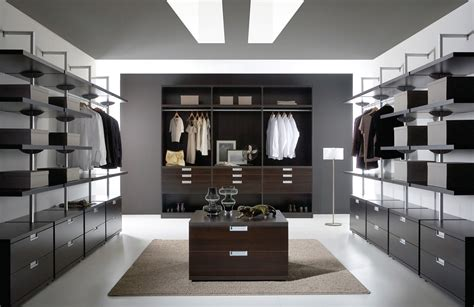 modern closet walk in closet design for small and larger areas