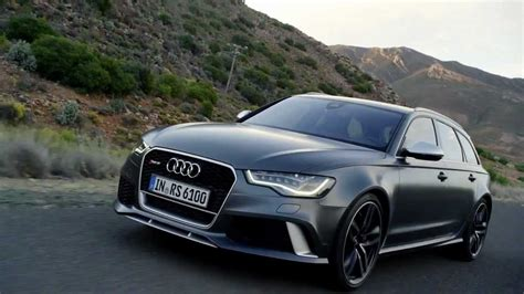 Neuer Audi Rs6 by 2013 Footage New Audi Rs6 Avant Youtube