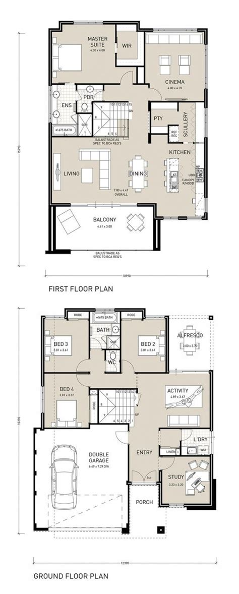 reverse living house plans best 25 two storey house plans ideas on pinterest sims