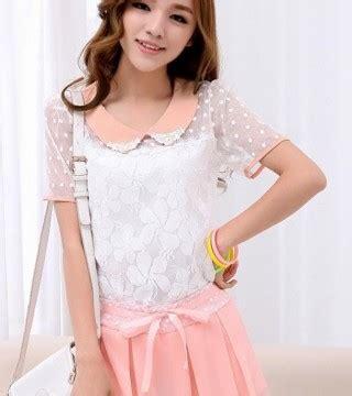Promo Atasan Blouse Wanita New Fash Murah blouse wanita korea brokat cantik model terbaru jual