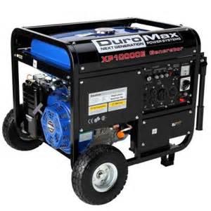 home depot generators duromax 10 000 watt gasoline powered electric start