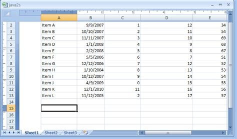 page layout view excel 2007 change the margin using the mouse in page layout view