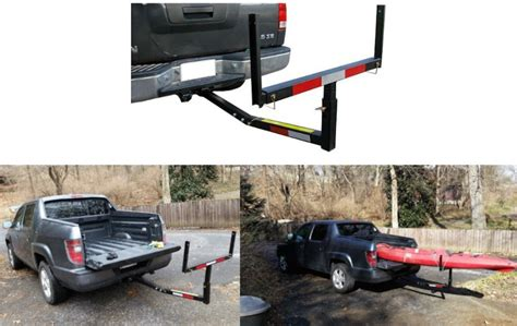truck bed extension hitch mounted bed extender heavy duty pickup truck bed