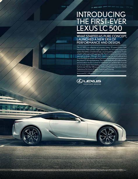 lexus ads it s a new era of lexus performance and design