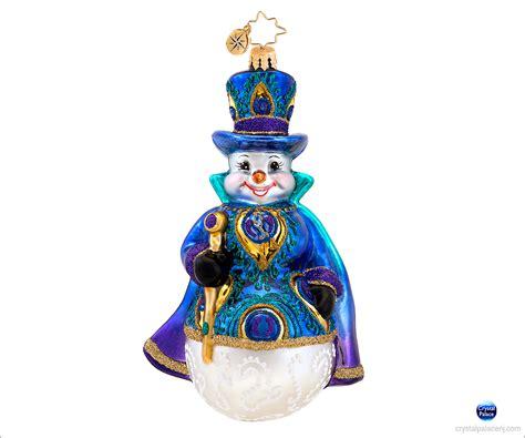 Radko Ornaments - christopher radko snowy plumage ornament