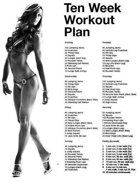 at home workout plans for women loose weight by easy workout plan health fitness