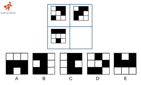 matrix pattern questions cogat nonverbal sle questions and explanations