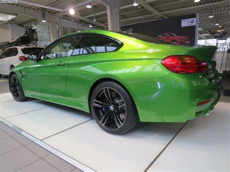 green bmw m4 bmw m4 in java green photo gallery