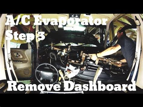how to remove an evaporator from a 1994 lexus gs part 1 how to replace evaporator core on 94 gmc suburb doovi