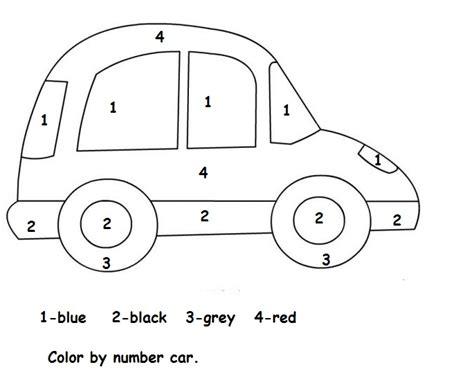 color by numbers coloring book for cars mens color by numbers cars coloring book color by numbers books for volume 1 books crafts actvities and worksheets for preschool toddler and