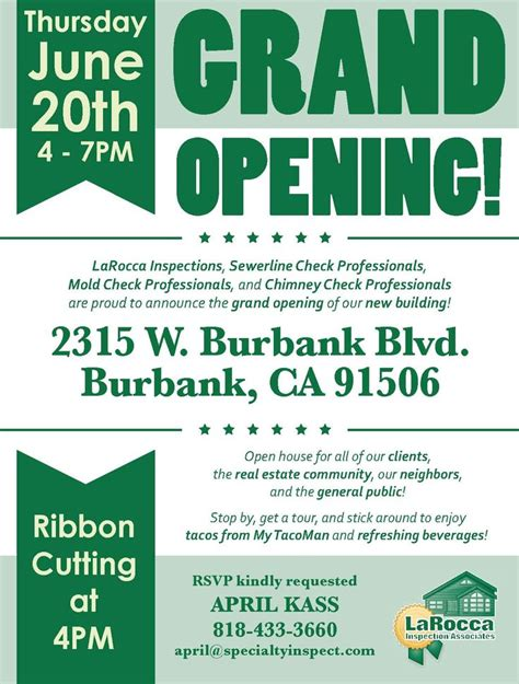templates for grand opening flyers grand opening google search flyer design pinterest