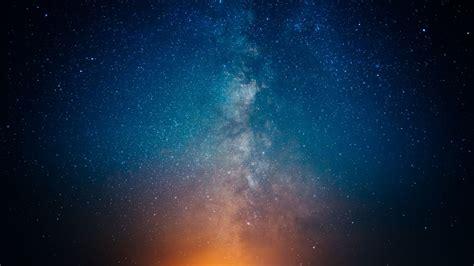 wallpaper starry sky milky  stars hd  nature