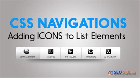 css tutorial in telugu how to add icons to list elements in css css telugu