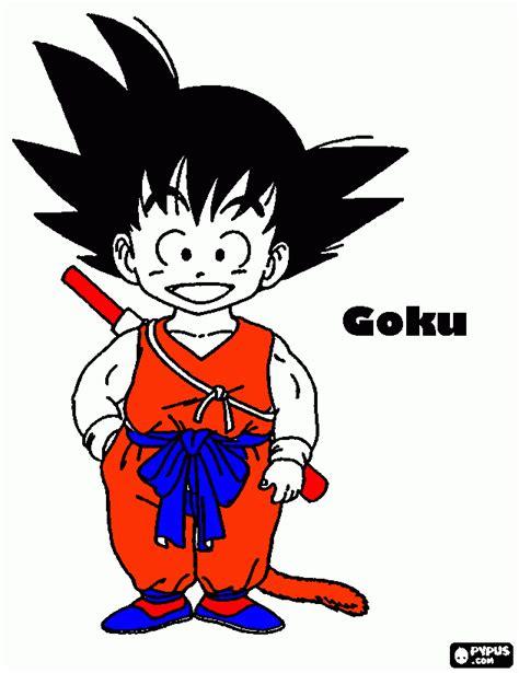 imagenes de goku xd goku en nino para colorear goku en nino para imprimir