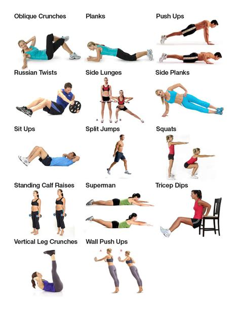 ten week workout plan get results from your home fit