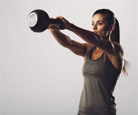 kettlebell swing women 3 kettlebell workouts for women