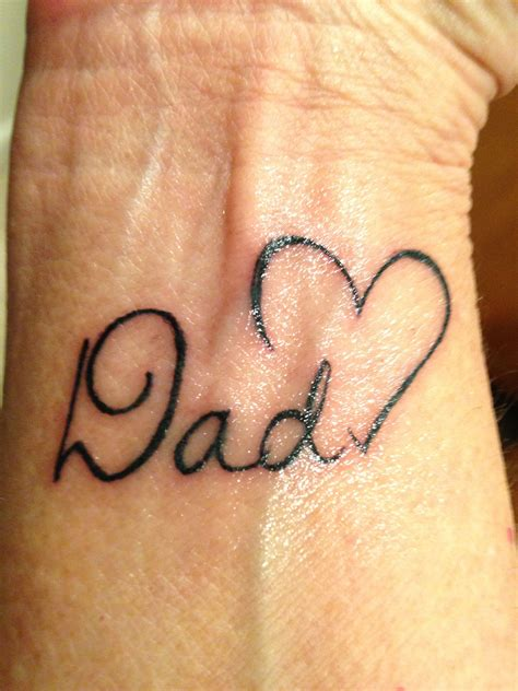 daddy tattoos in memory of my tattoos piercings
