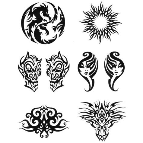 henna tattoo designs at six flags henna look water transfer tattoos six intricate designs