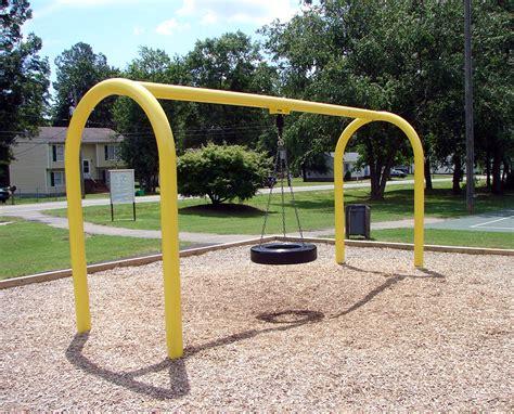 playground tire swing robinson park county of henrico virginia