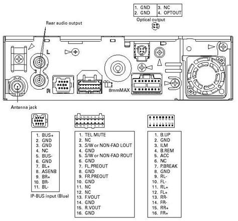 pioneer avh x2600bt wiring diagram electrical schematic