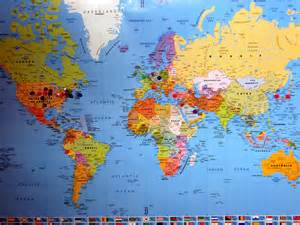 The World Map by Online Map Of The World Deboomfotografie