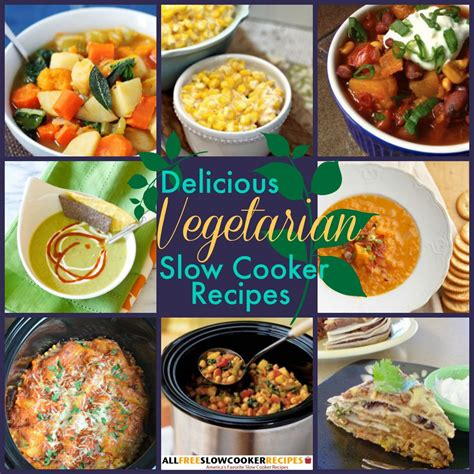 23 vegetarian slow cooker recipes
