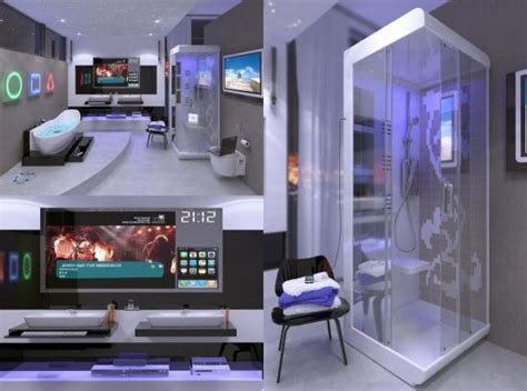 high tech home hi tech digital bathroom bring your home into the