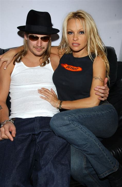 Kid Rock Was Of The Year While Pam Partied by Kid Rock And Cozied Up At The Trl Studies
