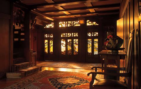 Green Home Design Plans visit pasadena the gamble house