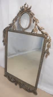 large decorative mirror large decorative silver gilt wall mirror