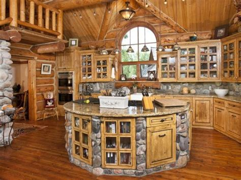 Octagon House Floor Plans by Build A Log Home And Make A Dream Kitchen Home Design