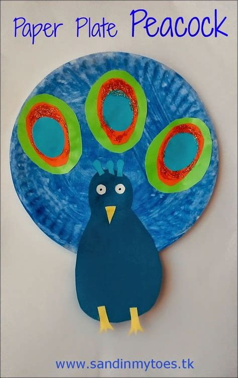 Peacock Paper Plate Craft - 312 best images about bird theme activities for on