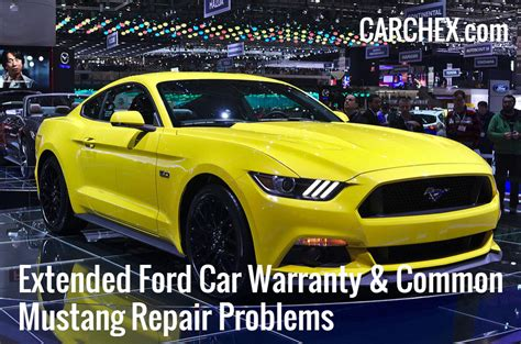 extended ford car warranty common mustang repair problems