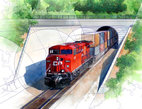 trains in america continental rail gateway project to benefit great lakes