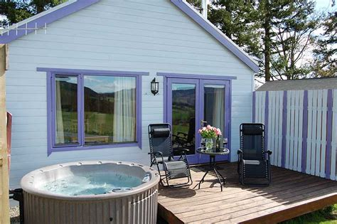 Pine Lodges With Tubs a tub retreat in a premium lodge for two with