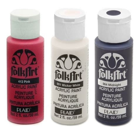 acrylic paint for folk acrylic paint bottle plaid from craftyarts co uk uk