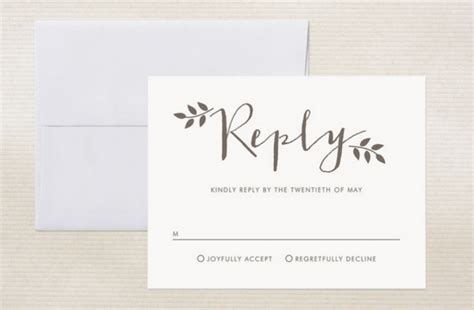 prevent unexpected wedding guests with your rsvp card how to write