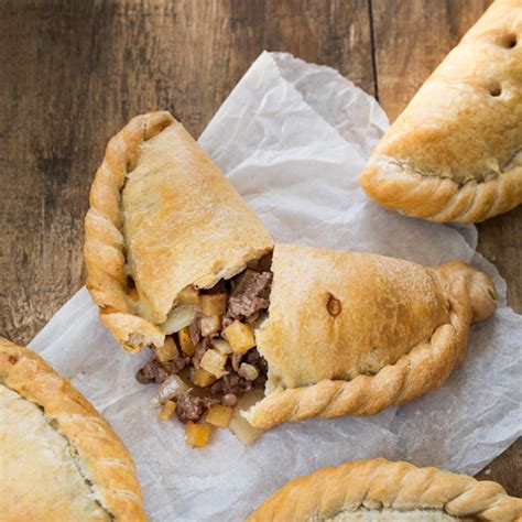 Handmade Cornish Pasties - small steak cornish pasty warrens bakery
