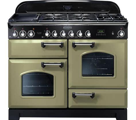 green range buy rangemaster classic deluxe 110 dual fuel range cooker