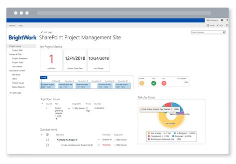 Native Sharepoint Vs Brightwork Free Template Sharepoint Task Tracking Template