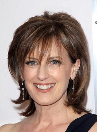 channel hair cut anne sweeney shoulders layered hairstyle hairstyle