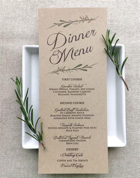 layout wedding menu 25 best ideas about wedding menu on pinterest wedding